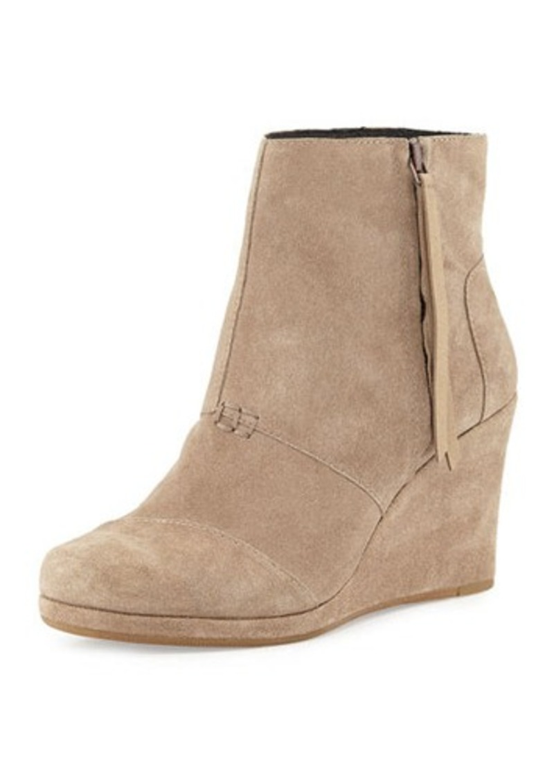 toms shoes toms high wedge desert boot shoes shop it to me