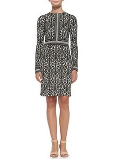 Deborah Printed Silk Dress   Deborah Printed Silk Dress