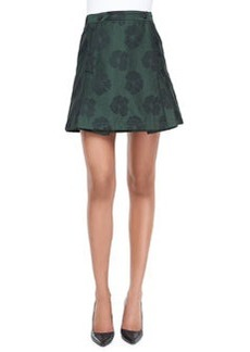 Karina Jacquard Draped Skirt   Karina Jacquard Draped Skirt