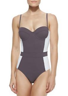 Lipsi Colorblock One-Piece Swimsuit   Lipsi Colorblock One-Piece Swimsuit