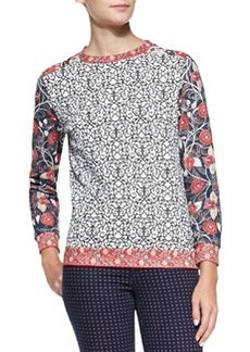 Ronnie Long-Sleeve Printed Pullover   Ronnie Long-Sleeve Printed Pullover