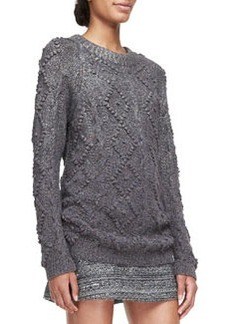 Shawn Wool-Silk Knit Tunic   Shawn Wool-Silk Knit Tunic
