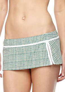Tory Burch Baleares Skirted Swim Bottom