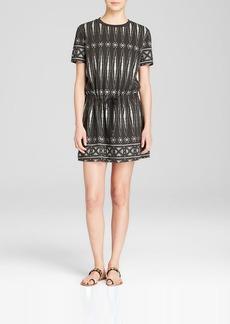 Tory Burch Bologan Geometric Print Dress