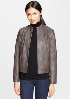 Tory Burch 'Brandy' Leather Jacket