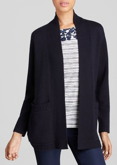 Tory Burch Bruna Merino Wool Cardigan