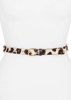 Tory Burch Calf Hair Belt