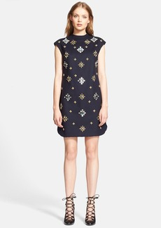 Tory Burch 'Carlan' Embellished Shift Dress