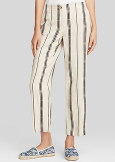 Tory Burch Carrie Stripe Pants