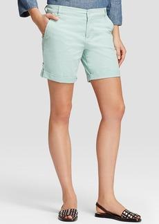 Tory Burch Chino Cuff Tab Shorts
