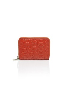 Tory Burch Coin Case - Embossed-T Zip
