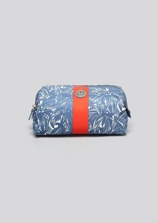 Tory Burch Cosmetic Case - Large Molded Printed Nylon Tabora Comet