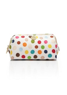 Tory Burch Cosmetic Case - Printed Nylon Multi Dot Large Molded