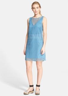 Tory Burch 'Crescent' Guipure Lace Shift Dress