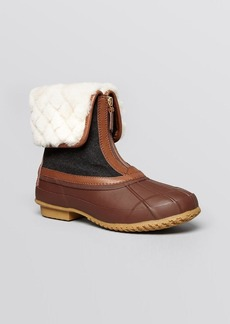 Tory Burch Duck Booties - Abbott