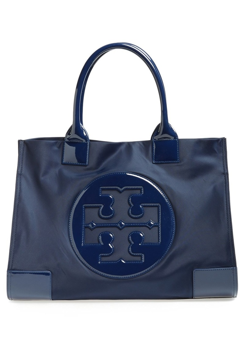 tory burch 39 ella 39 nylon tote shop it to me all sales in one place shop it to me. Black Bedroom Furniture Sets. Home Design Ideas