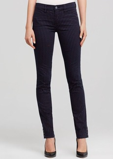 Tory Burch Emmy Micro Floral Skinny Jeans
