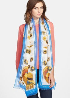 Tory Burch 'Engineered Hat' Scarf