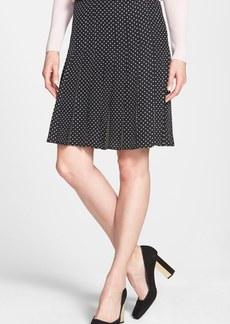 Tory Burch 'Erica' Polka Dot Silk Skirt