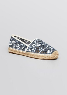 Tory Burch Espadrille Flats - Lucia Lace