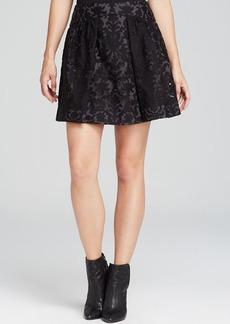 Tory Burch Etta Damask Mini Skirt