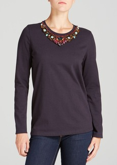 Tory Burch Exclusive Ellie Embellished Tee