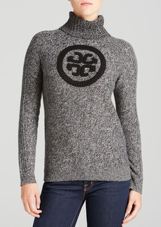 Tory Burch Exclusive Shirley Logo Sweater