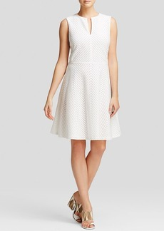 Tory Burch Eyelet Flare Dress