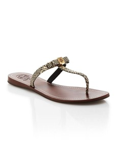Tory Burch Flat Thong Sandals - Leighanne