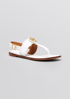 Tory Burch Flat Thong Sandals - Selma