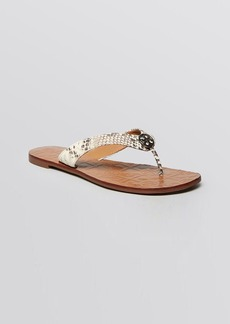Tory Burch Flat Thong Sandals - Thora