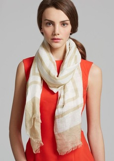 Tory Burch Fret Retro T Scarf