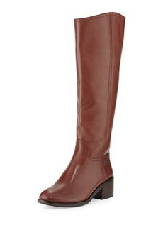 Tory Burch Fulton Knee-High Boot, Dark Sepia