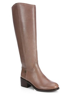 Tory Burch Fulton Leather Knee-High Boots