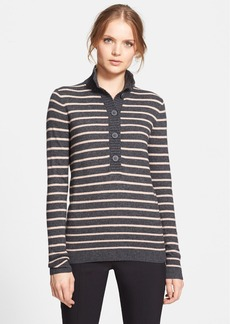 Tory Burch 'Giselle' Half Button Sweater