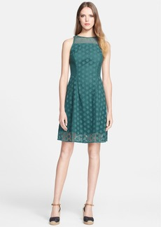 Tory Burch 'Hallie' Broderie Anglaise A-Line Dress