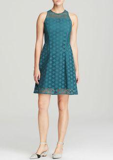 Tory Burch Hallie Honeycomb Lace Dress