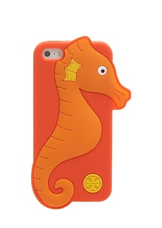 Tory Burch iPhone 5/5s Case - Seahorse Silicone