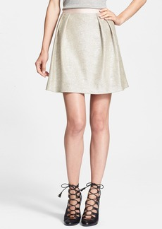 Tory Burch 'Kathleen' Metallic Skirt