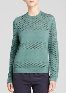 Tory Burch Leona Open Knit Sweater