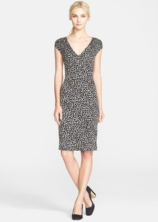Tory Burch 'Libby' Print Silk Sheath Dress