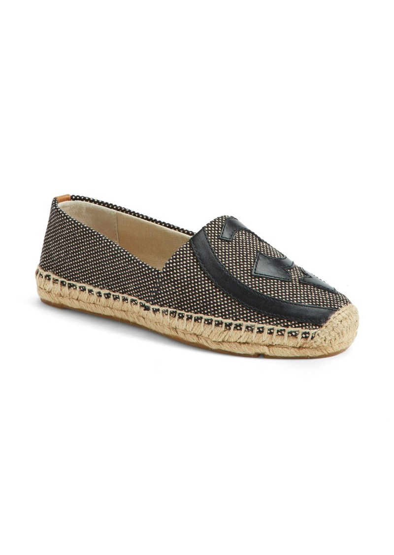 tory burch 39 lonnie 39 espadrille flat women shop it to me all sales in one place shop it to me. Black Bedroom Furniture Sets. Home Design Ideas