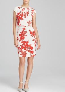 Tory Burch Lydie Leaf Print Dress