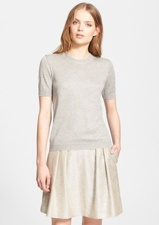 Tory Burch 'Lyndsey' Metallic Sweater