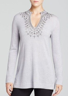 Tory Burch Marin Embellished Tunic
