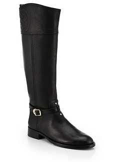 Tory Burch Marlene Leather Riding Boots