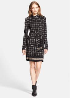 Tory Burch 'Mavis' Long Sleeve Jersey Dress