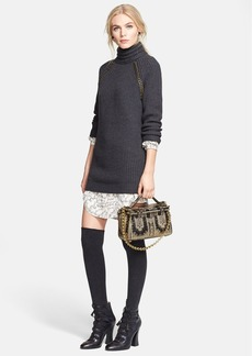 Tory Burch 'McKenna' Turtleneck Sweater Dress