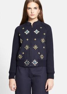 Tory Burch 'Melissa' Embellished Jacket