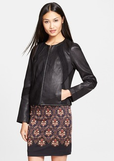 Tory Burch 'Micky' Leather Jacket